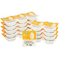 [Amazonブランド] Happy Bellyパックご飯 低温製法米180g×24個(白米)