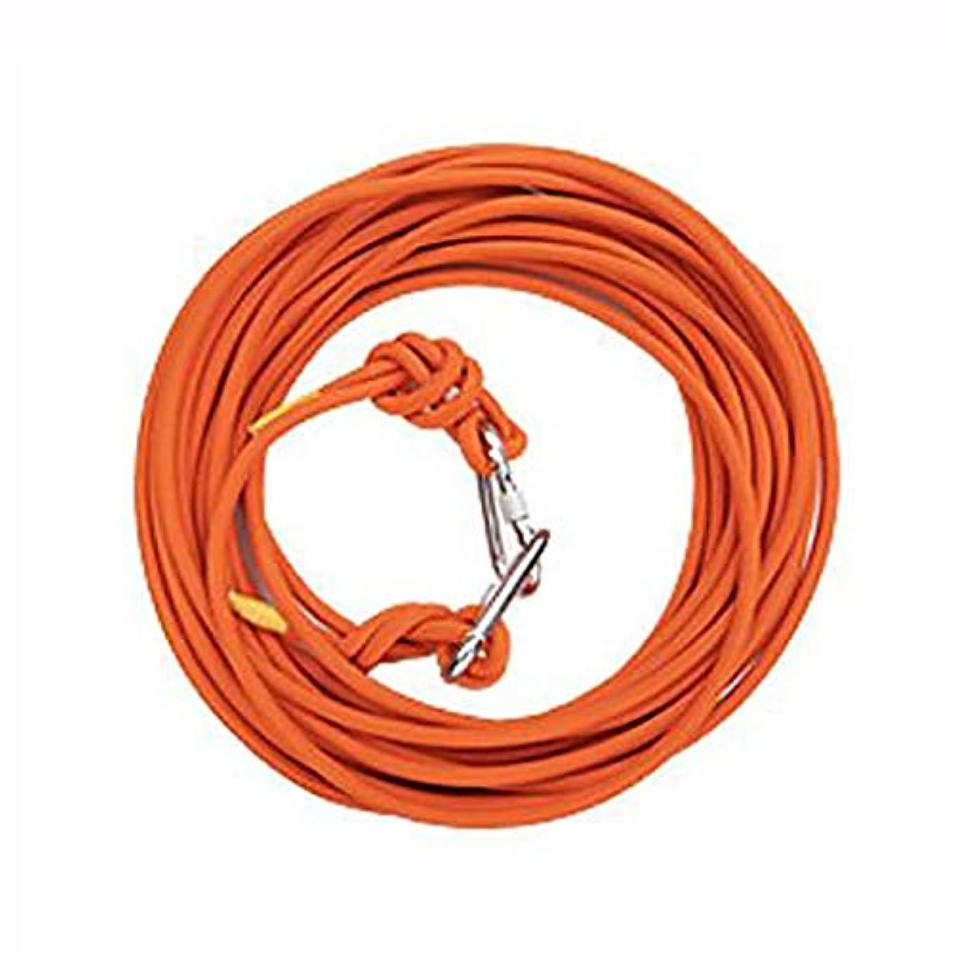損なうあいにく宣教師ロープ(張り綱) ロープレスキューロープ家族緊急安全ロープワイヤーコアロープ直径10mm、鋼線3mm長さ10/15/20/30/40/50/60/70/80/90 / 100mオレンジ (サイズ さいず : 10M)