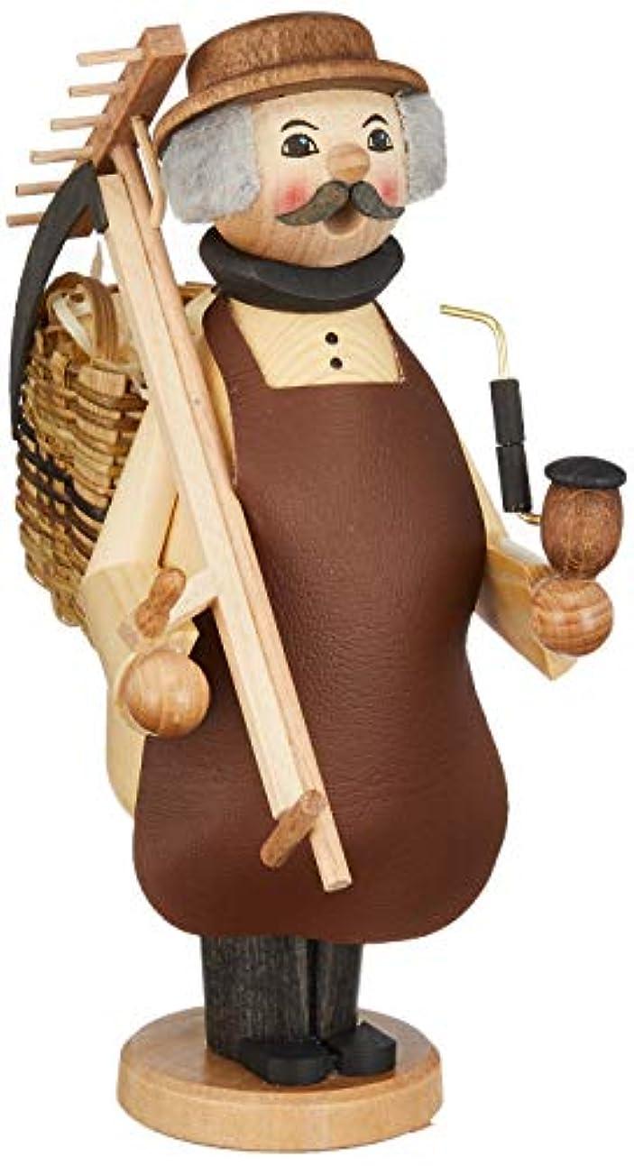 タイムリーな音節褐色kuhnert ミニパイプ人形香炉 農夫