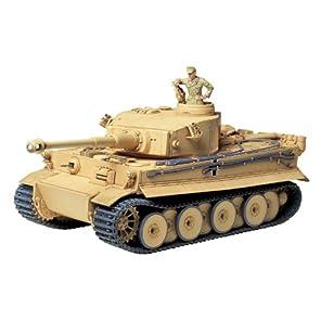 タミヤ 1/35 ミリタリーミニチュアシリーズ No.227 ドイツ陸軍 重戦車 タイガーI 極初期生産型 アフリカ仕様 プラモデル 35227