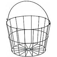 ワイヤーバスケット アンティーク丸型36cm 55-61
