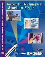 [Badger]Badger Airbrush Techniques Start To Finish Dvd BD-103 [並行輸入品]