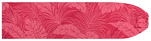 [해외]핑크 빠우케스 몬스 테라 무늬 pcase-2022PiPP 맞춤형 훌라 스커트를 작게 수납 훌라 용/Pink Powcase Monstera Pattern pcase-2022PiPP Small Order Made Hula Skirt for Hula Dance