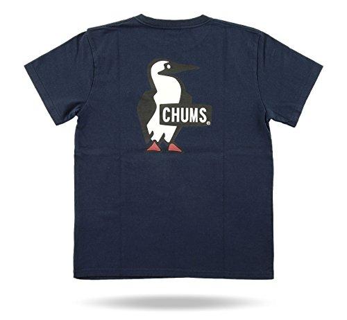 チャムス ブービーロゴ 半袖Tシャツ