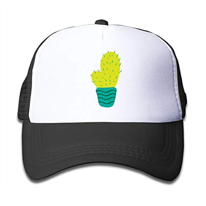 サボテン 素敵 かわいい おもしろい ファッション 派手 メッシュキャップ 子ども ハット 耐久性 帽子 通学 スポーツ