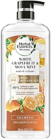 Herbal Essences Bio Renew White Grapefruit and Mosa Mint Shampoo, 600 ml