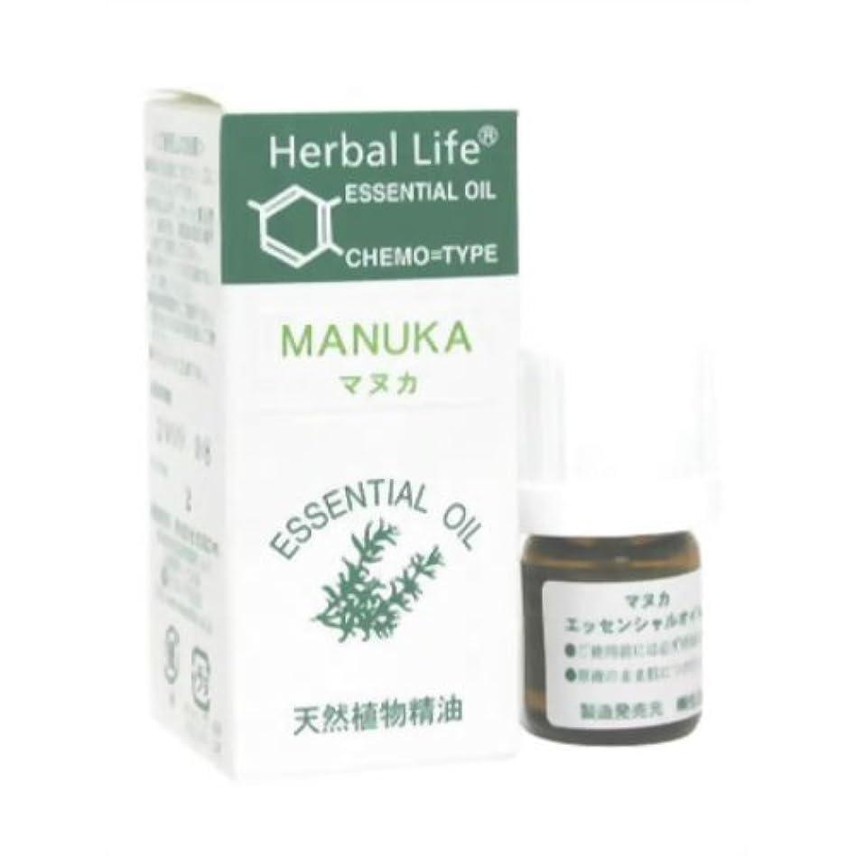 麻酔薬ブランド雄大な生活の木 エッセンシャルオイル マヌカ 3ml
