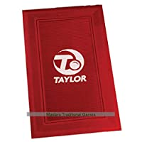 Taylor Rubber Bowls Delivery Mat - WBB regulation, red