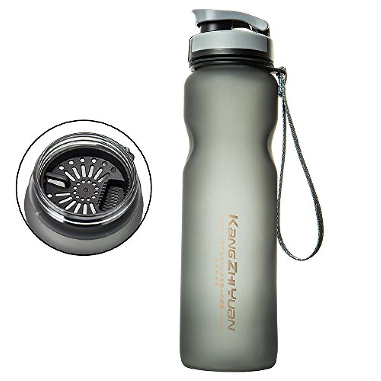 重大サイクル暗唱するfannybuy スポーツボトル ウォーターボトル 1000ml アウトドアボトル 水筒 超軽量 大容量 携帯便利 直飲み 運動用 フィルターネット アウトドア