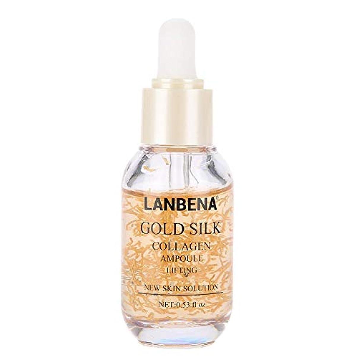 木製染色トーナメントコラーゲンフェイシャルエッセンス、肌への潤い 修理 保湿 引き締め 肌の輝き ユニセックス スキンケア製品