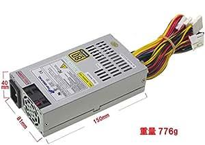 PC電源 ハイパワー 超小型 MiniITX FlexATX 電源ユニット 220W 20+4PIN 静音タイプ 80PLUS BRONZE 認定品AMD /インテルCPUシステムをサポートしています。入力電圧 100V-240V 自動切替式
