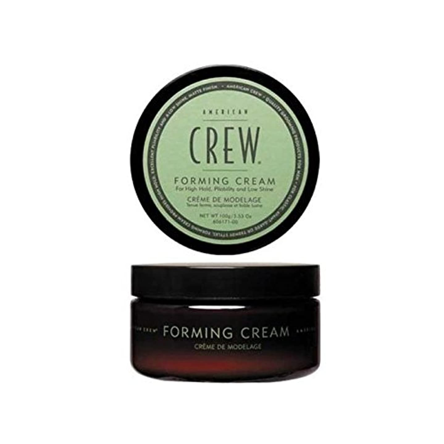 クリケットアレルギー性不調和アメリカの乗組員形成クリーム(85グラム) x2 - American Crew Forming Cream (85G) (Pack of 2) [並行輸入品]