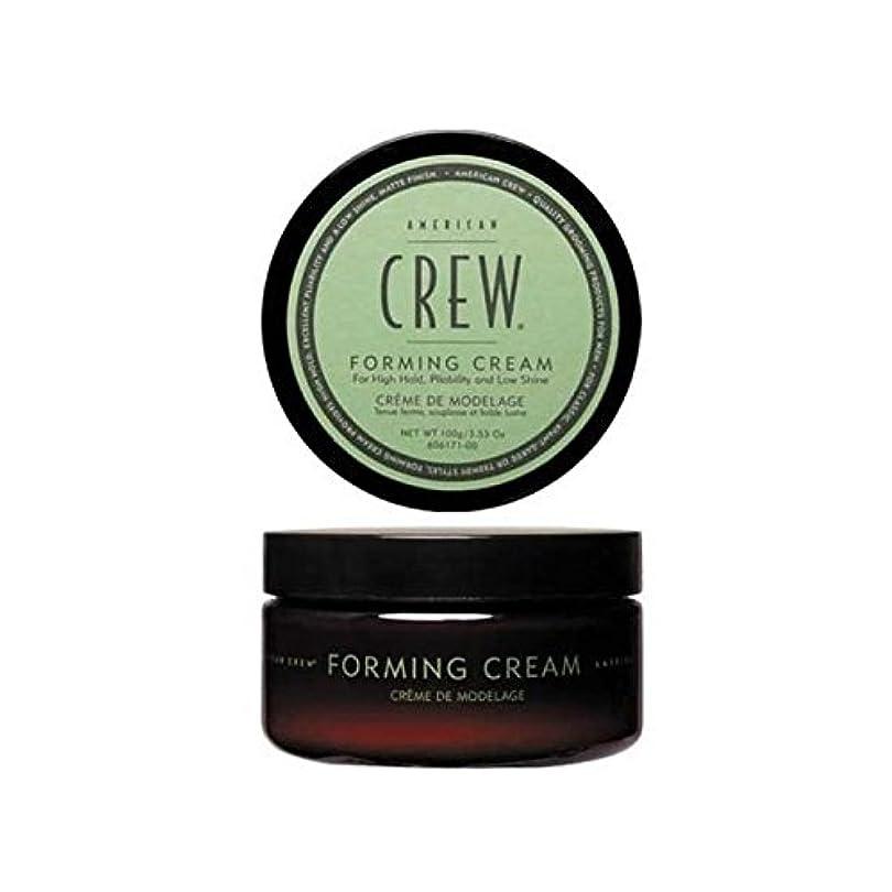 贅沢大胆な時計回りアメリカの乗組員形成クリーム(85グラム) x2 - American Crew Forming Cream (85G) (Pack of 2) [並行輸入品]