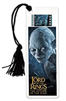 Filmcells Lord of the Rings 3( Gollum )ブックマークwith Tassel and Real 35mm Filmクリップ