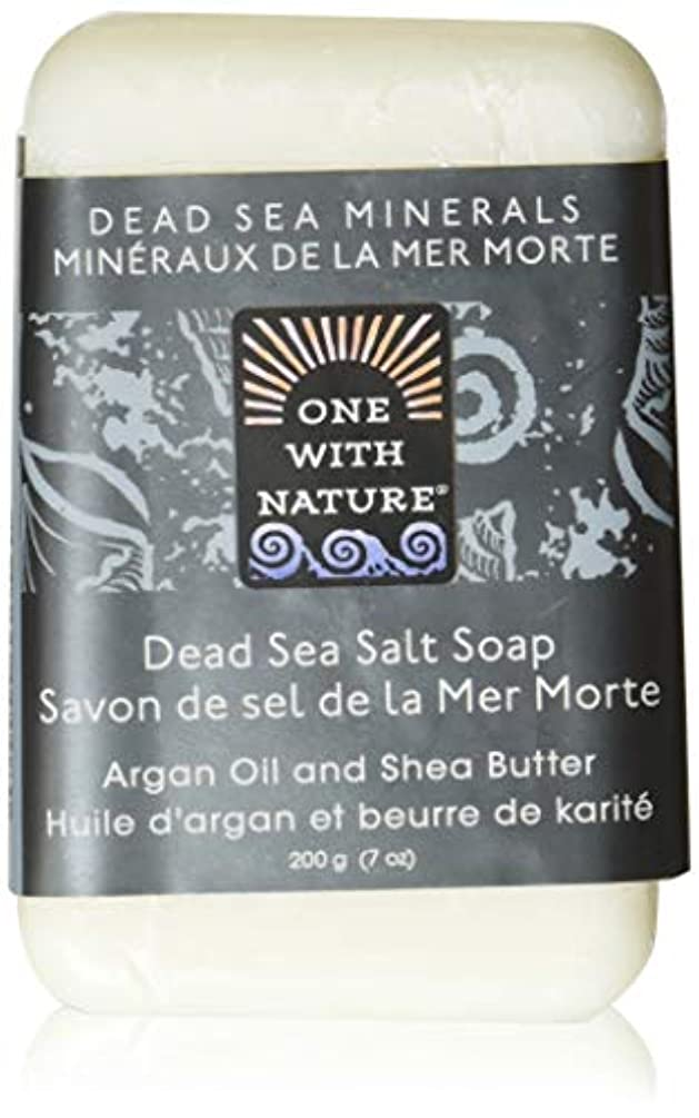 報いるテメリティ群集Dead Sea Mineral Dead Sea Salt Soap - 7 oz by One With Nature