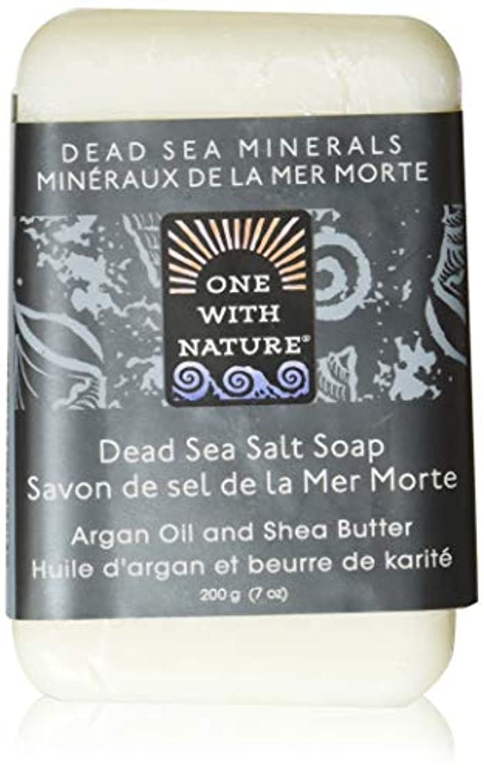 認知豚水っぽいDead Sea Mineral Dead Sea Salt Soap - 7 oz by One With Nature