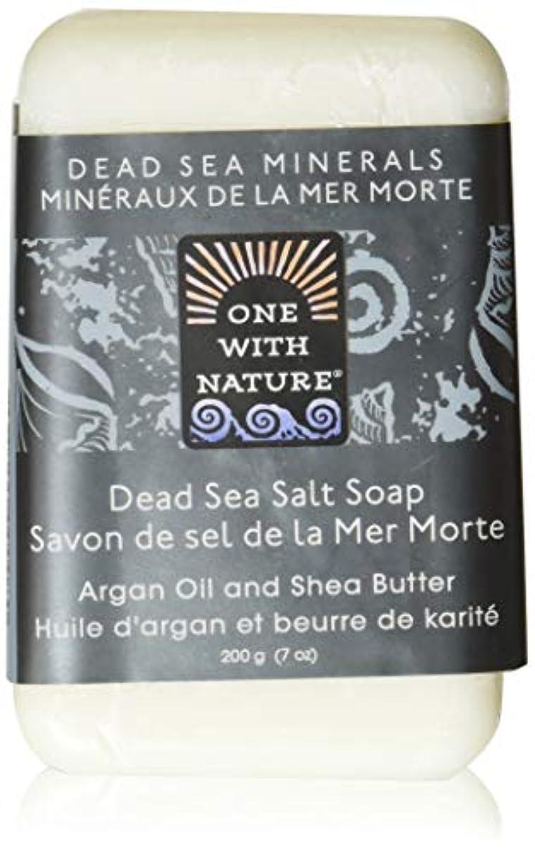 通信網道徳の直面するDead Sea Mineral Dead Sea Salt Soap - 7 oz by One With Nature