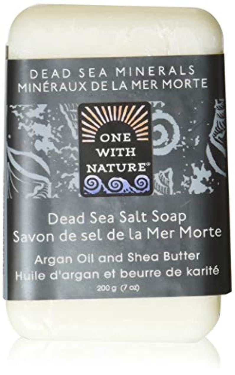 避難処方夜間Dead Sea Mineral Dead Sea Salt Soap - 7 oz by One With Nature