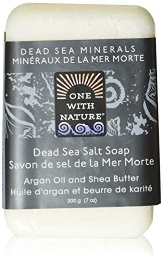 フラグラント服を片付ける投資するDead Sea Mineral Dead Sea Salt Soap - 7 oz by One With Nature