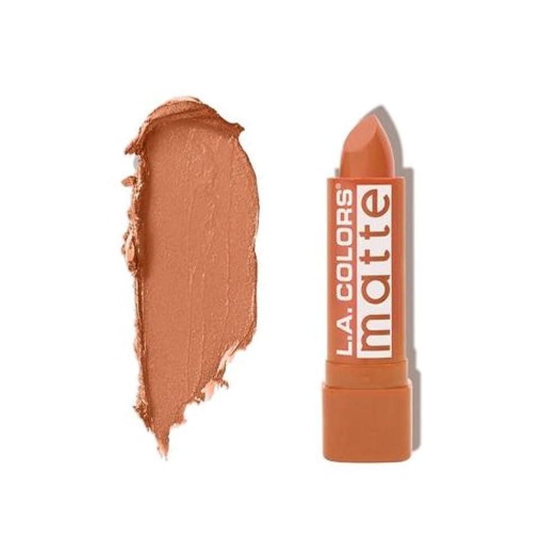 グレード危険な熟考する(3 Pack) L.A. COLORS Matte Lip Color - Going Steady (並行輸入品)