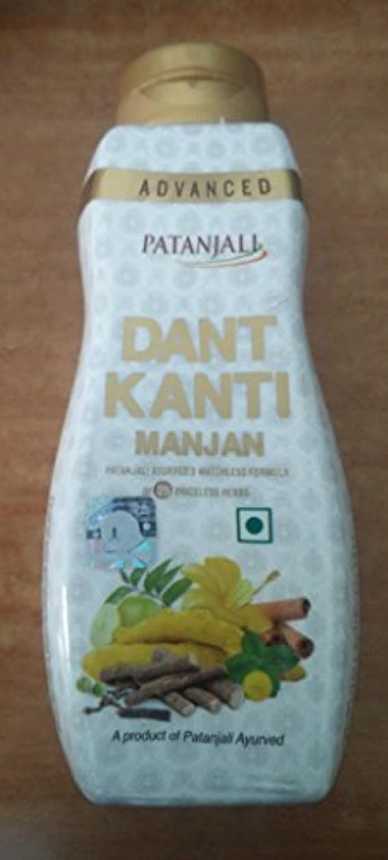 ムスタチオ人道的犯すPatanjali Advanced Dant Kanti Manjan 100 Grams Worldwide