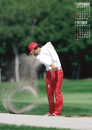 石川遼 2011年 カレンダー