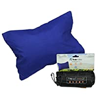 TREKMATES INFLATABLE DELUXE PILLOW (NAVY)