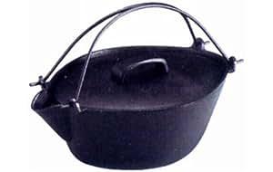 IK 鉄瓶鍋 共蓋付 大 QTT1701