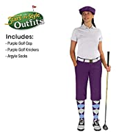 ゴルフKnickers start-in-style Outfit–Ladies–パープル 12