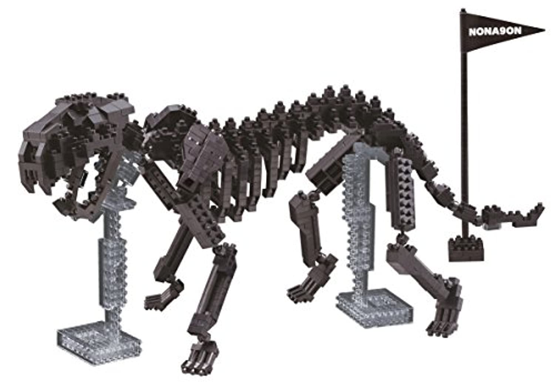 ナノブロック ノナゴンタイガー 骨格モデル NBM-016
