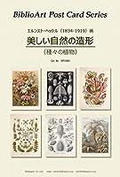 BiblioArt Post Card Series E.ヘッケル『美しい自然の造形(種々の植物)』 6枚セット(解説付き)