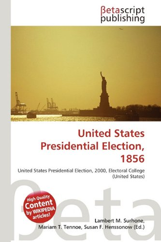 United States Presidential Election, 1856