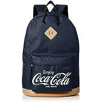 [コカ・コーラ] リュック デイパック カバン かばん 鞄 バックパック コカ・コーラ コーラ ロゴ 立体刺繍 刺繍 レディース メンズ ユニセックス おしゃれ かわいい 大容量 通勤 通学 COK-MBBKD01