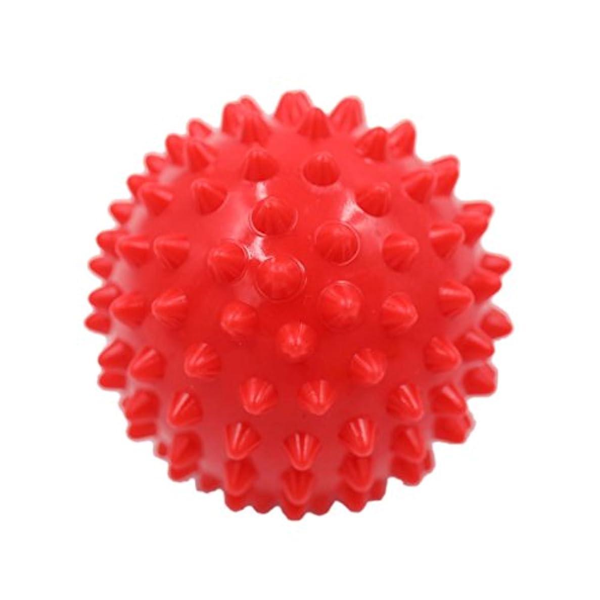 オーナメント観光に行く欠陥マッサージボール マッサージ器 ボディ レリーフ スパイク マッサージ 刺激ボール 3色選べ - 赤, 説明したように