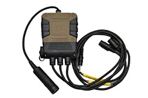 EMERSON製 C4 OPSタイプ PTTスイッチ 無線機用スイッチ レプリカ DE&BK ダークアース&ブラック