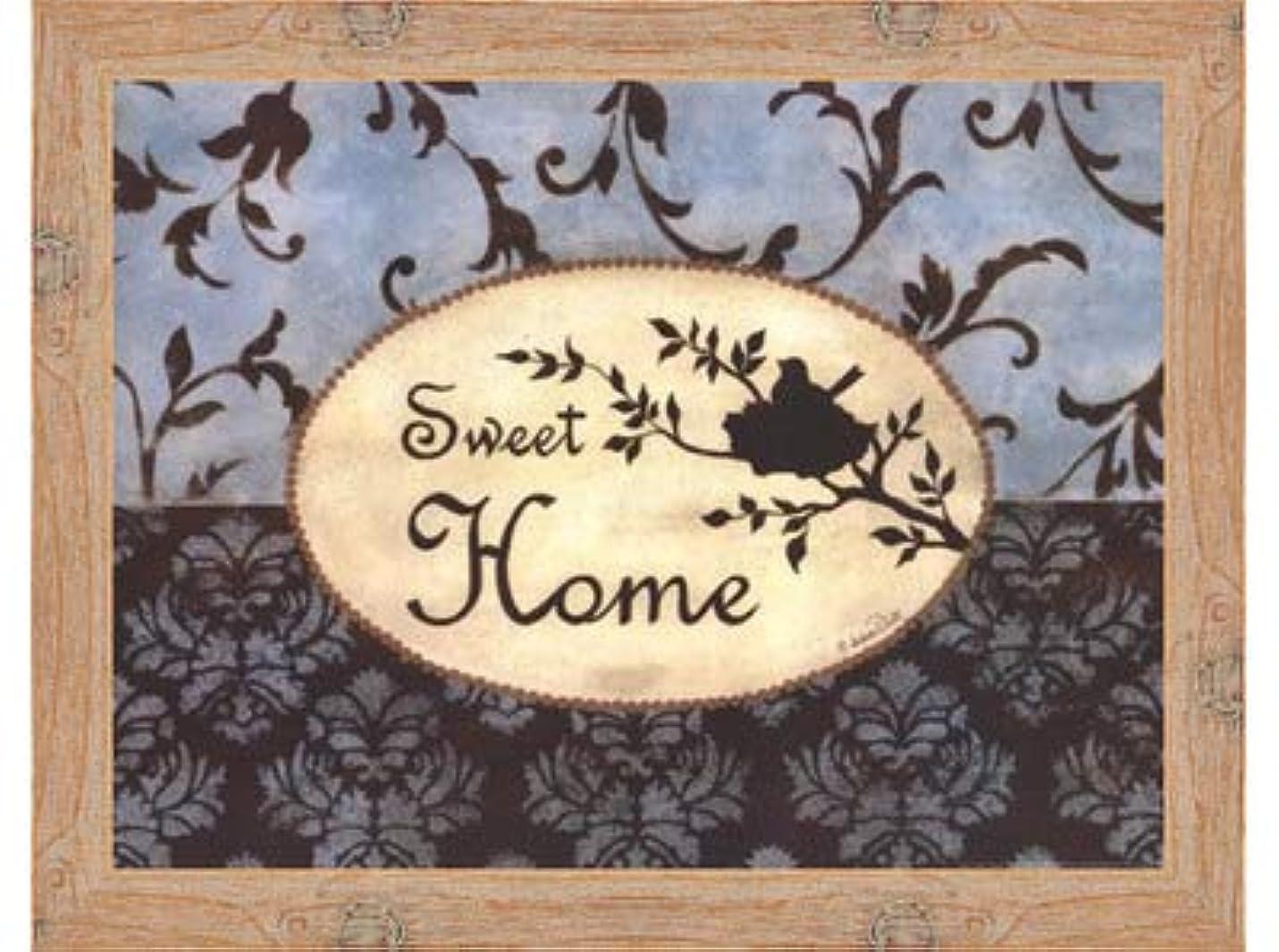 作成者シャワー生命体Sweet Home by Andrea Roberts – 16 x 12インチ – アートプリントポスター LE_665221-F10902-16x12