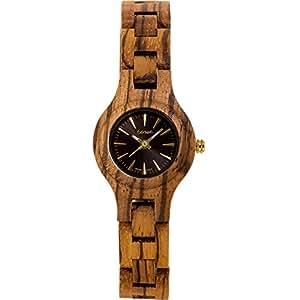 Tense l7509z Mini Pacificメンズ木製腕時計