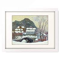 クロード・モネ Claude Monet 「Winter landscape, 1895.」 額装アート作品