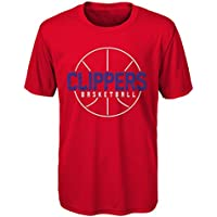 NBA Kids & Youth Boys Ultra Short Sleeve Tee Los Angeles Clippers-Red-S(4)
