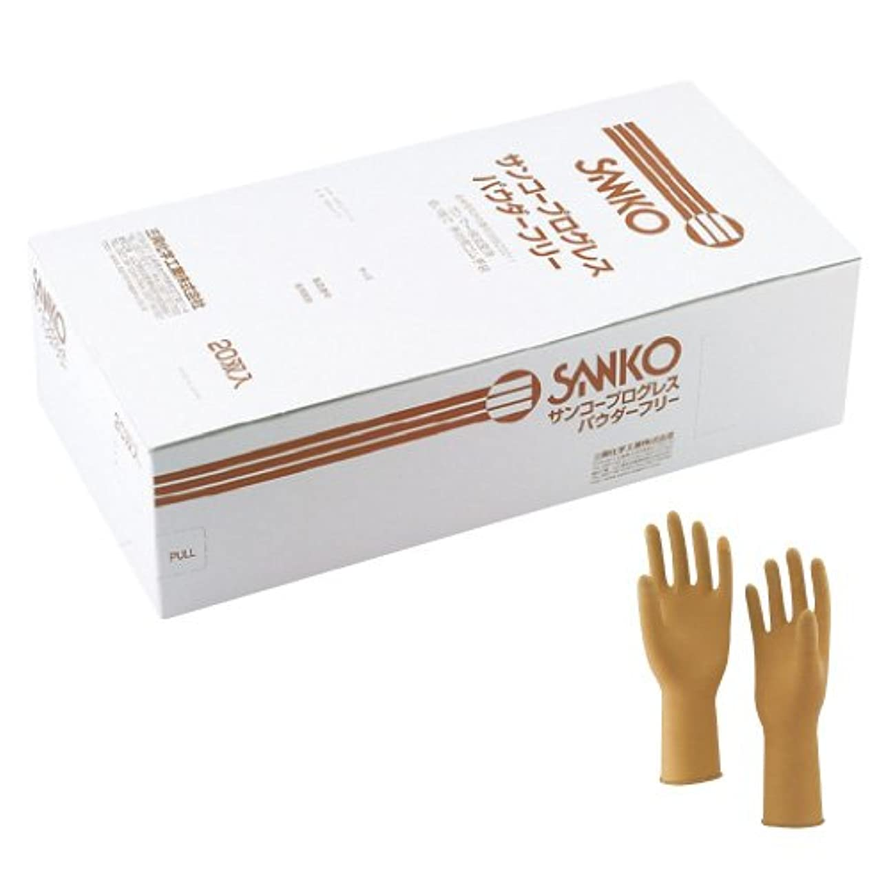 努力炭水化物ブランデープログレス手術用手袋 6 <1箱(20双入)>