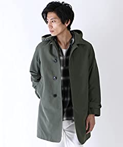 Cordura 3-way Balmacaan Coat 15256200480: Olive