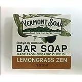 VermontSoap バーモントソープ トラベルサイズ 2種類 (レモングラス) 21g オーガニック石けん 洗顔 ボディー