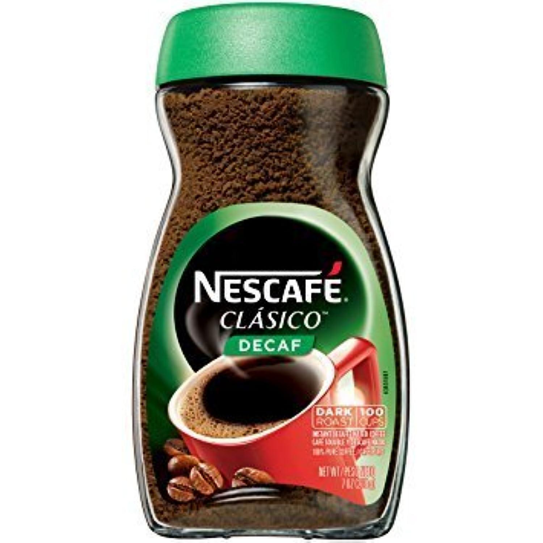 ネスカフェ クラシコ デカフェ インスタント コーヒー198g (Nescafe Clasico Decaf 7oz) [並行輸入品]