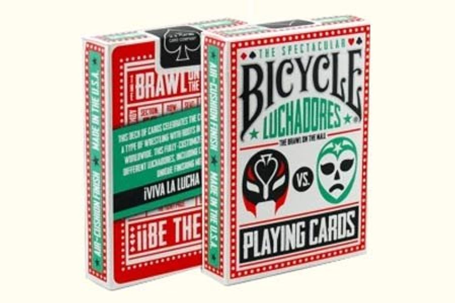 Bicycle Luchadores Deck by US Playing Card Co. - Trick by US Playing Card Co. [並行輸入品]