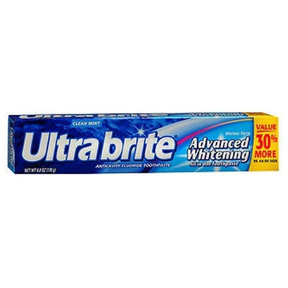お手伝いさん選ぶ浸す海外直送品Colgate Colgate Ultra Brite Advanced Whitening Fluoride Toothpaste, 6 oz (Pack of 3)