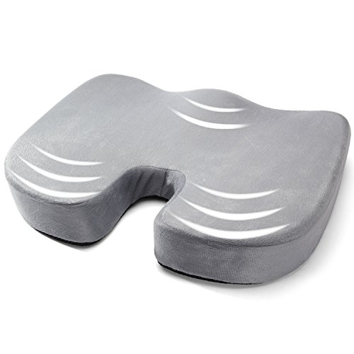 AYSHTR 座布団 U型 低反発 健康クッション 痔防止 姿勢矯正 腰痛対...