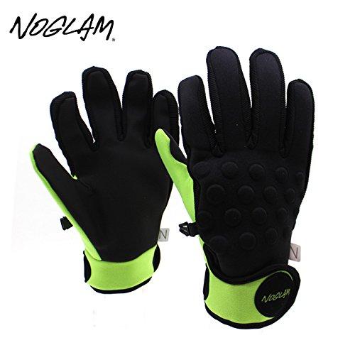 (ノーグラム)NOGLAM 2015年モデルnog-142 グローブ THE MIXX FIVE FINGER/BLACK/LIME 日本正規品 M