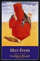 ポスター マックス エルンスト Ubi1923 額装品 ウッドハイグレードフレーム(ネイビー)