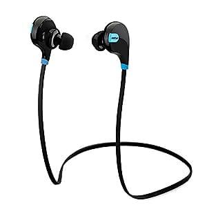 Mpow Swift Bluetooth 4.0 イヤホン ワイヤレスステレオヘッドセット aptX付 スポーツに対応 内蔵マイク「18ヶ月保証」(ブラック)