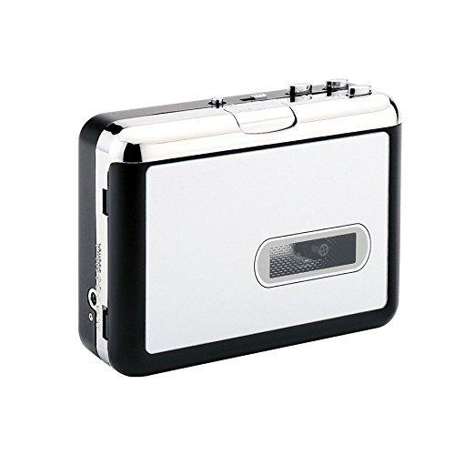 PC不要!カセットテープ USB変換プレーヤー カセットテープデジタル化 M...